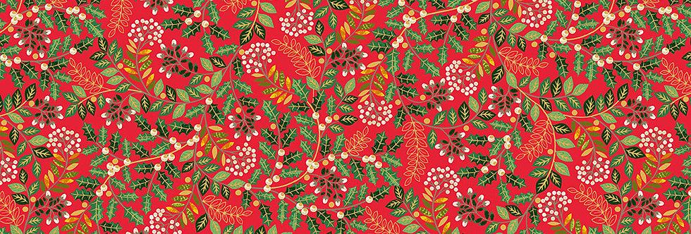 Leaf Swirl Red