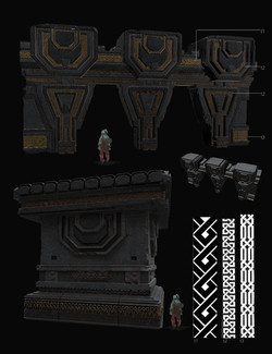 Dungeon Wall Set