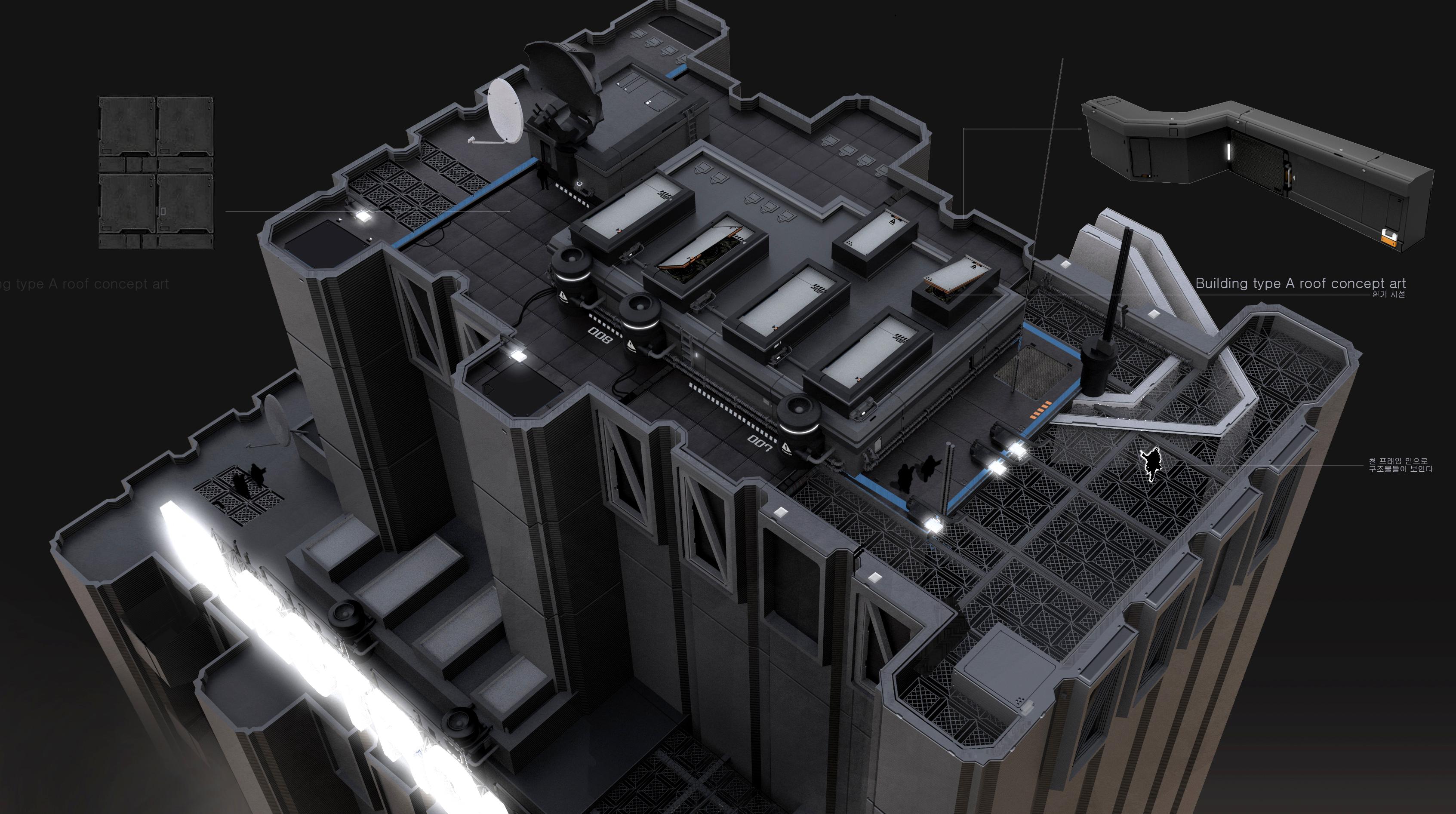1건물 TYPE A 옥상