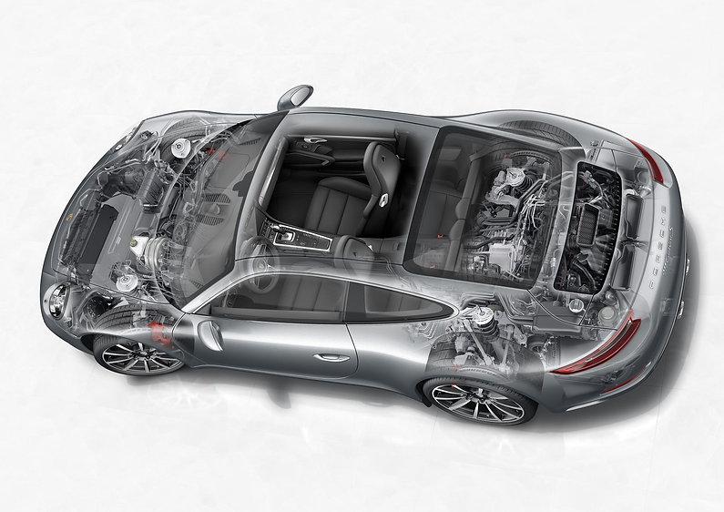 2016-Porsche-911-Carrera-facelift-chassi