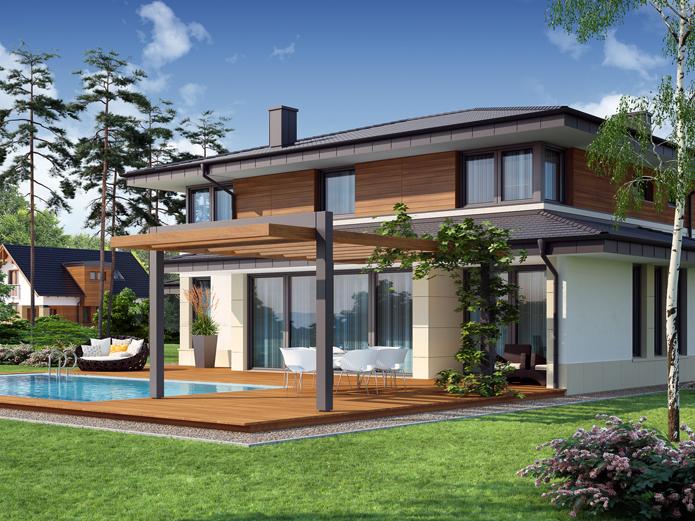 Case americane progetti trendy with case americane for Diversi tipi di case da costruire