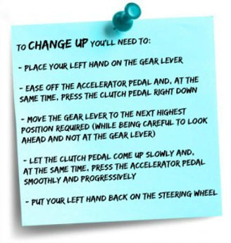 WHEN TO CHANGE GEAR IN A MANUAL CAR
