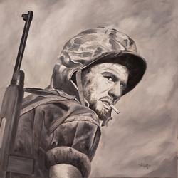 david padgett_oil_looking back 1945_480