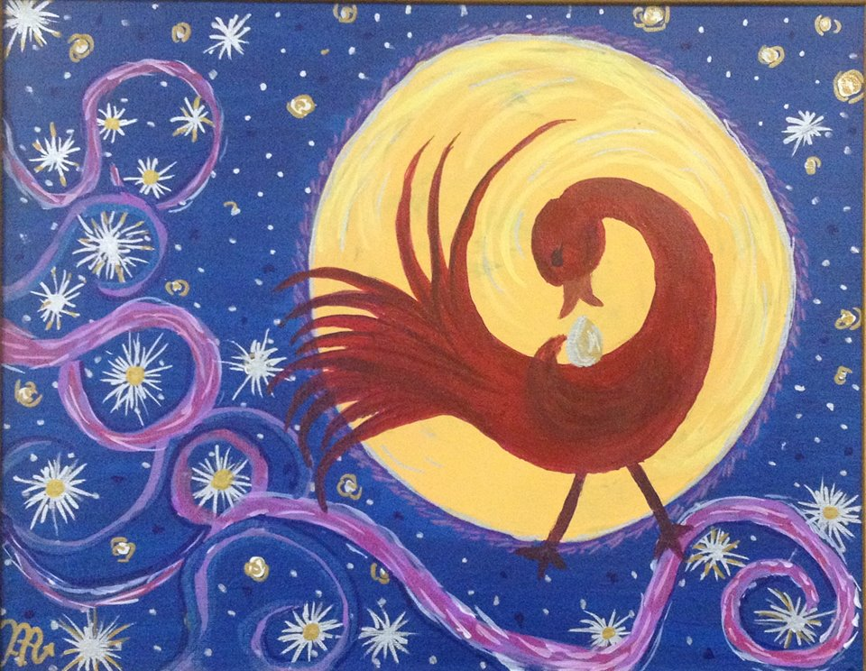 Incoming Moon Sankofa