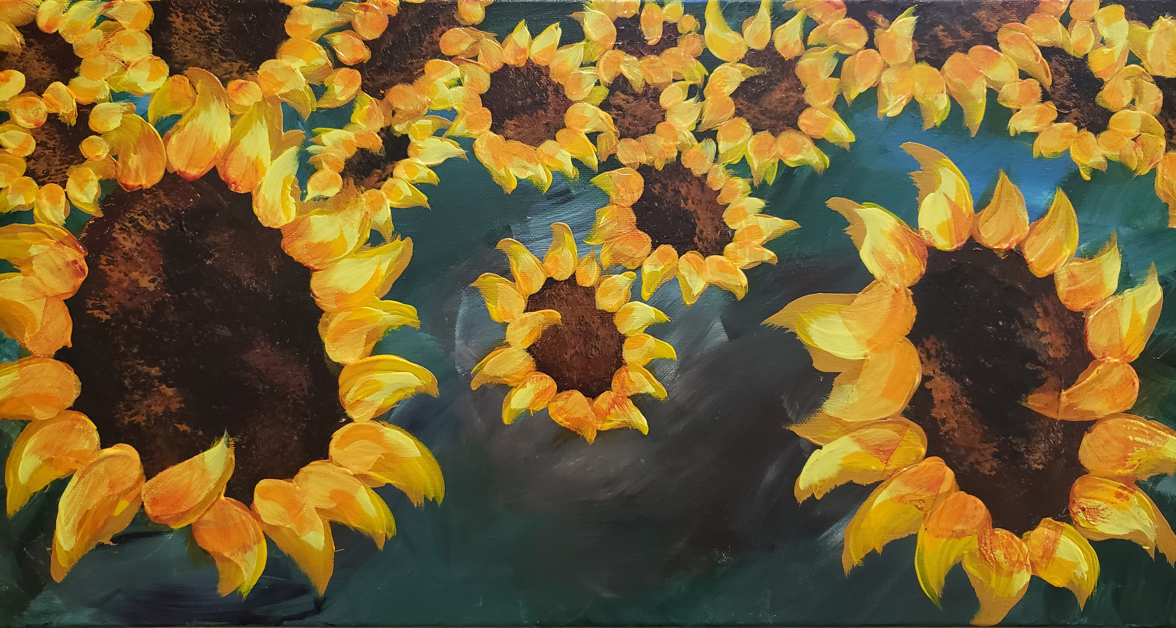 Kingfisher Sunflowers