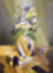 Abstract Pansies by Gayle Patterson_edit