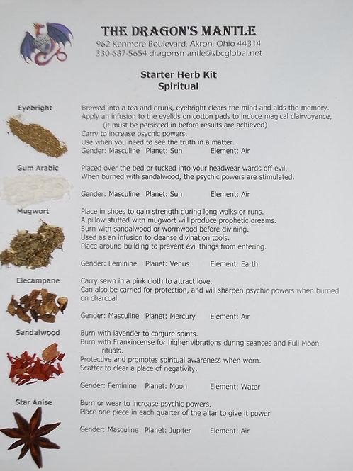 Herb Starter Kit for Spiritual