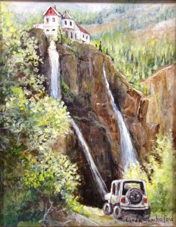 Off Roading Colorado (Black Bear Pass) by Linda Shackelford_edited