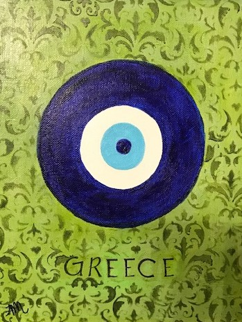 Greek Lucky Eye