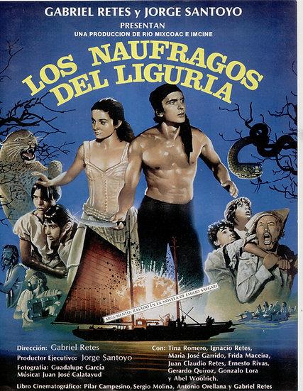 Poster oficial Naufragos del Liguria
