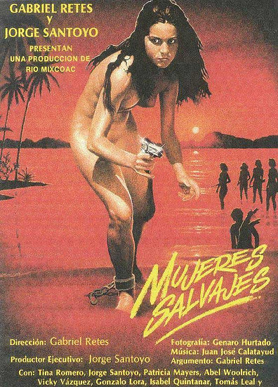 Poster oficial Mujeres Salvajes