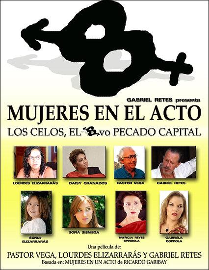 Poster oficial Mujeres en el acto