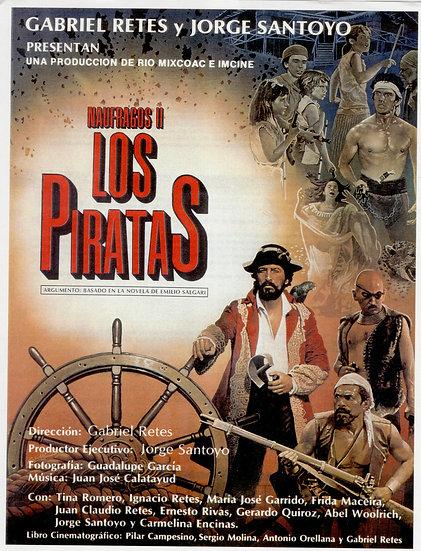 Poster oficial Los Piratas