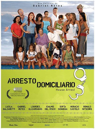Poster oficial Arresto domiciliario