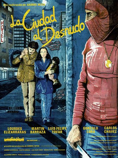 Poster La ciudad al desnudo