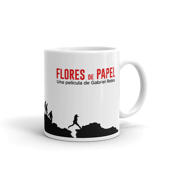 Taza: Flores de Papel
