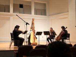 Performing Debussy's Danses Sacree et Profane at the IU Jacobs School of Music