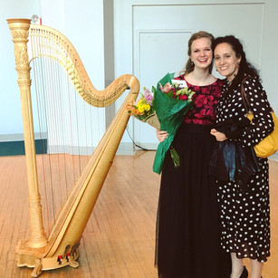 Melanie with Professor Florence Sitruk