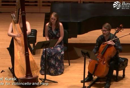 Michael Kurek: Serenade for Cello and Harp