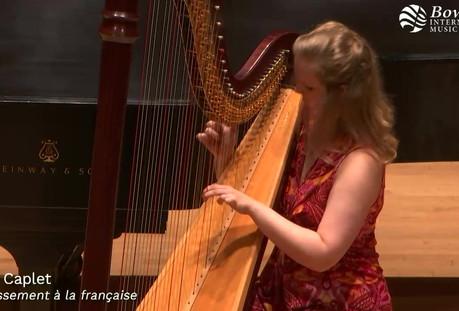 Caplet: Divertissement a la francaise for harp