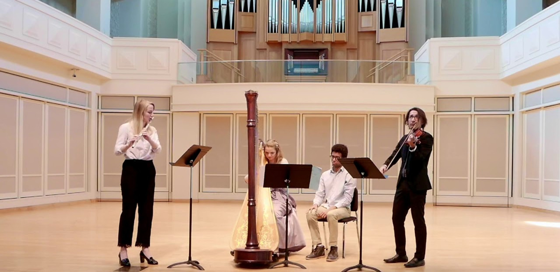 Ravel: Sonatine for flute, viola, and harp