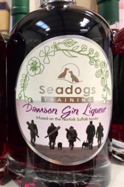 Damson Gin Liqueur Seadogs Training Edition