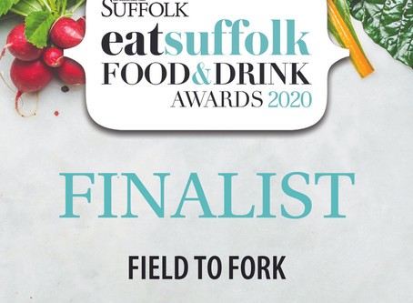 So proud to have been chosen as a finalist