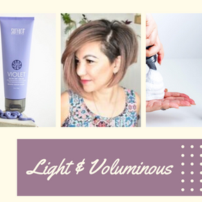3 Must Have Products for Light & Voluminous Hair