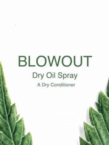 Blowout Dry Oil Spray