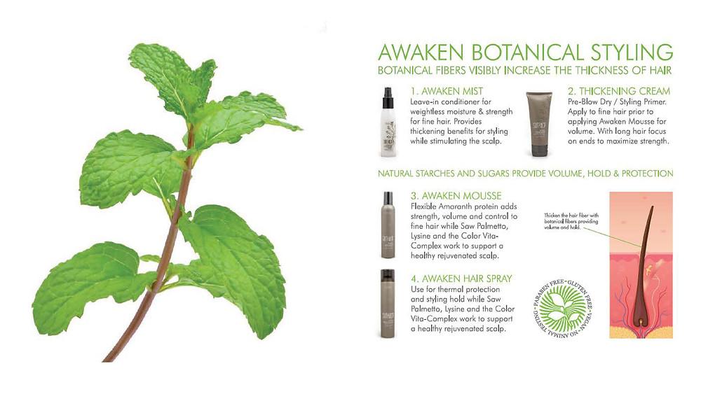 Awaken Botanical Styling