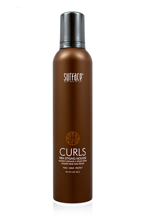 Surface Curls Firm Styling Mousse