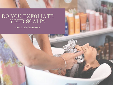 How often do you exfoliate your scalp?