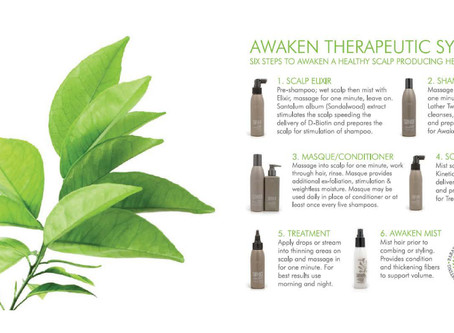 Stimulate & Revitalize Thinning Hair with Surface Hair Awaken Products