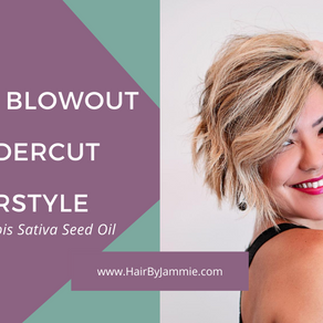 How to blow dry an undercut hairstyle