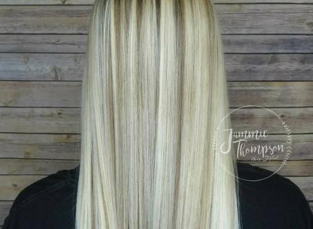 Balayage hair make over