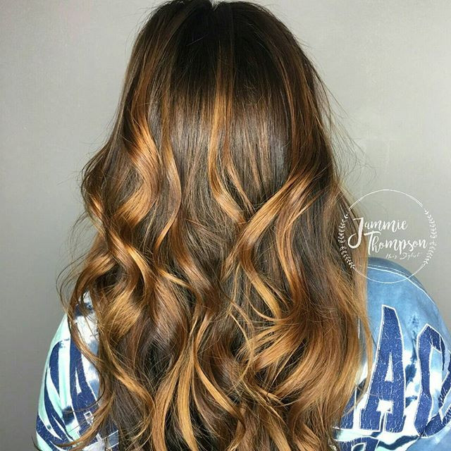 Full Balayage Highlight, Jammie Thompson