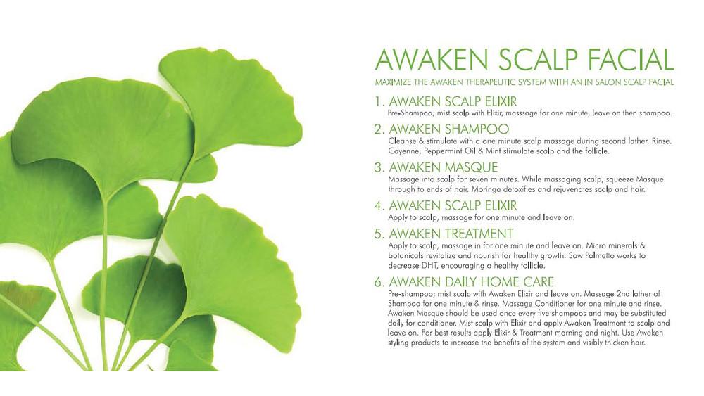 Awaken Scalp Facial