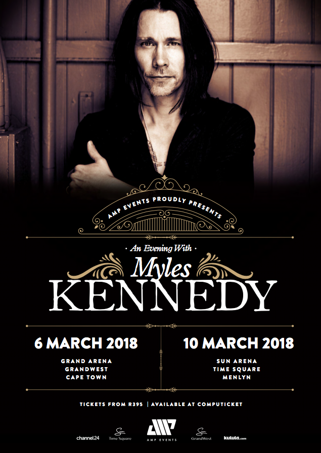 Myles Kennedy South African Tour Poster (From Facebook)