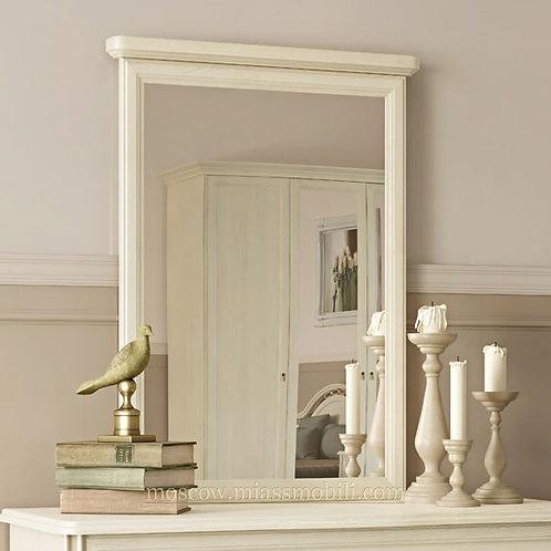 Зеркало в раме к комоду Екатерина крем