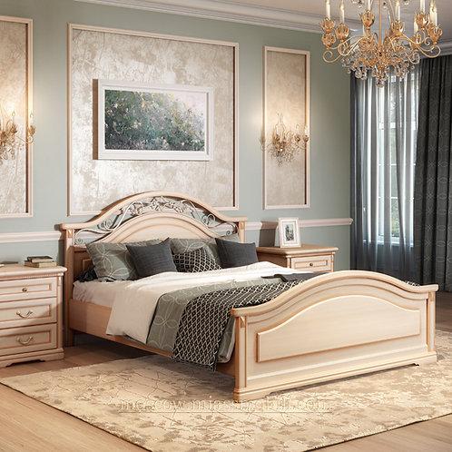 Двуспальная кровать, вариант №1 160х200