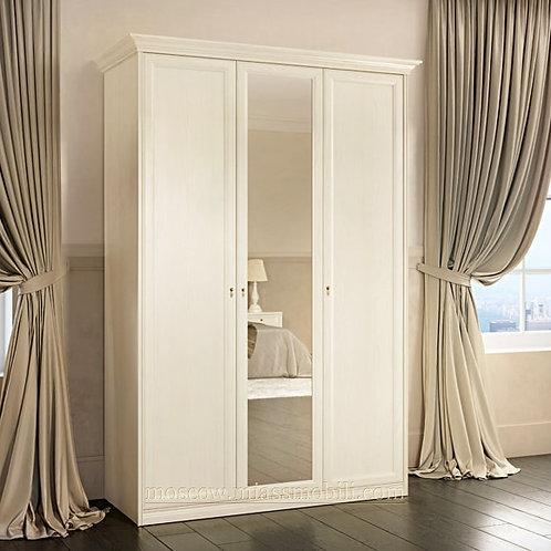 Шкаф 3-дверный Екатерина крем