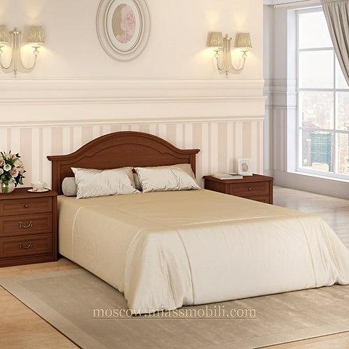Кровать без ножной спинки Екатерина орех