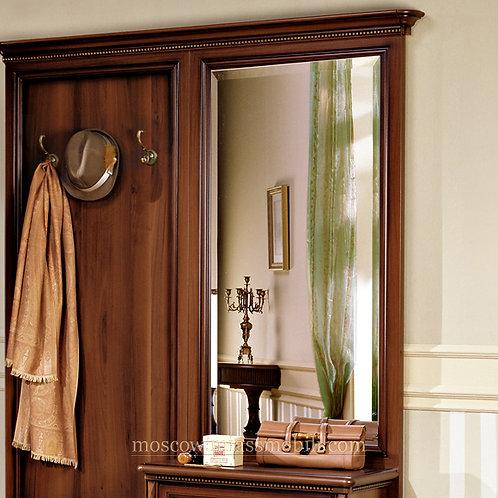 Зеркало навесное для прихожей Джоконда орех