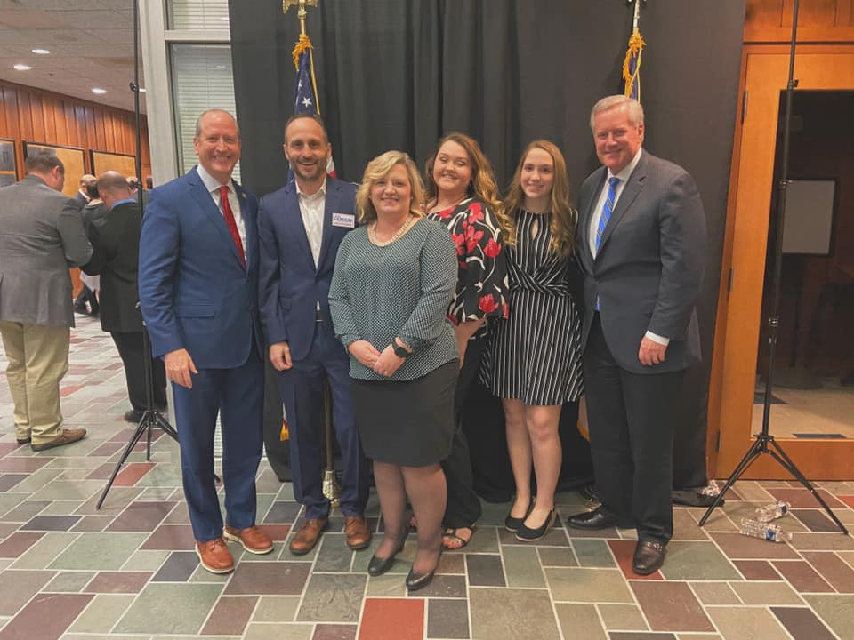 My family with Mark Meadows