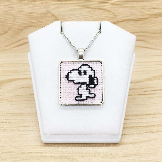 Snoopy Cross Stitch | Pendant
