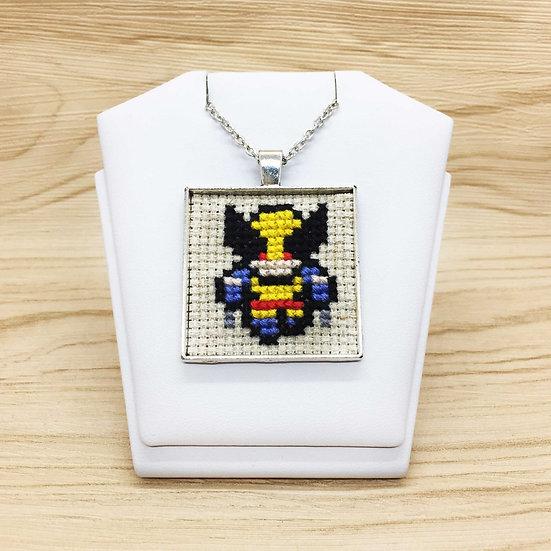 Wolverine Cross Stitch | Pendant
