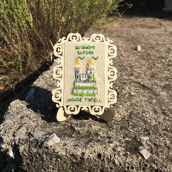 House Tyrell Castle Cross Stitch | Game of Thrones