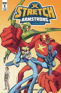 STRETCH ARMSTRONG #2 by IDW