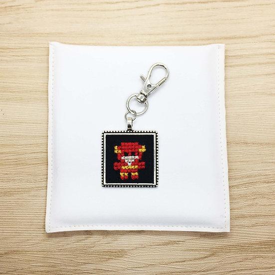 Flash Cross Stitch | Keyring