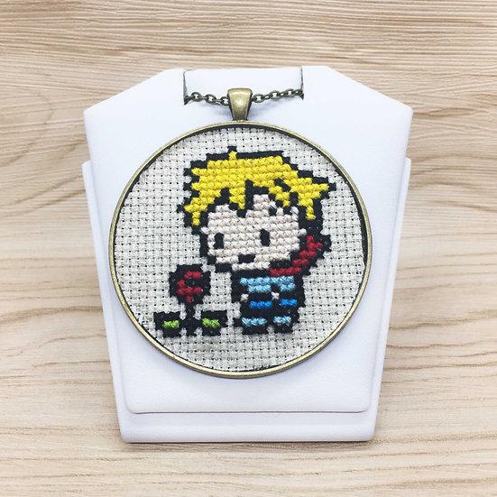 The Little Prince Cross Stitch | Pendant